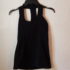 Lululemon athletica Black Yoga / Tanktop Size 6